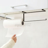 Kitchen Under Cabinet Paper Towel Hanger Rack Organizer Storage Shelf Holder NEW