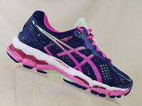 e0e1cd8d8d26 ASICS Gel Hayano 22 Womens Blue  White Diva Pink Running Sneakers Size 5.5