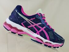 ASICS Gel Hayano 22 Womens Blue /White/Diva Pink Running Sneakers Size 5.5