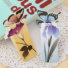 50 pcs 3D Butterfly Bookmark For Beautiful Birthday Christmas Gift Book Mark