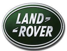 Land Rover OVALADO Metal Señal Clásico Taller SEÑALES TALLER Placa