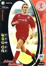 FOOTBALL CHAMPIONS 2001-02 Alen Boksic 184/250 Middlesbrough F.C. FOIL