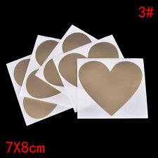 5x Postcard Coating Scratch Card Message Hidden Surprises Set Scratch Sticker 3c Golden Love