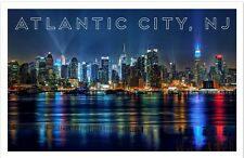 "Atlantic City New Jersey - Travel - Souvenir - 2""x3"" Flexible Fridge Magnet #3"