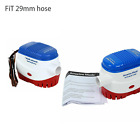 2 pack 12v Boat Submersible Electric Bilge 1100GPH Water Pump Fits 29mm hose US photo
