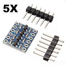 5Pcs Bi-directional Logic Level Shifter Converter Module 5V to 3.3V For Arduino