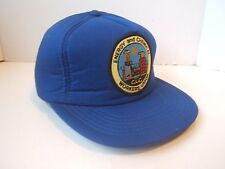 Energy Chemical Workers Union CLC Patch Hat Vintage Blue Snapback Baseball Cap