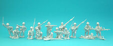 28mm 1st Corps WW2 Japanese  10 figure Squad 03,unpainted Historical, Miniatures