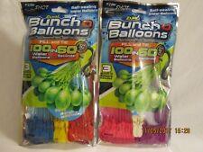 X Shot ZURU Bunch O Balloons 100 Self Sealing Water Balloons Lot of TWO