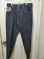 Vintage Mens 38x34 Johnny Johnn Blaze black Jeans Pants  Baggy Fit Goth skull
