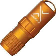 """Exotac Et1200Org Survival Match Case Strikers Xl Blaze Orange 3.6"""""""