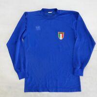 MAGLIA SHIRT TRIKOT CAMISETA ITALIA ERIMA 80'S