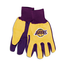 NFL LOS ANGELES LAKERS GLOVES ADULT TWO-TONE NEW