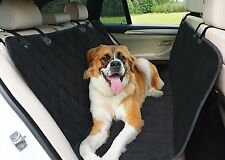 """TOP RATED Hammock Dog Seat Cover for Cars, SUVs, and Trucks 54"""" X 58"""""""