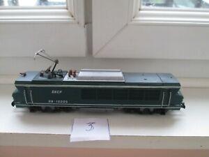 N° 3  locomotive électrique  bb 15005 jouef entrainement par pignon