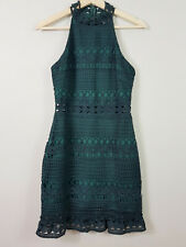 TWO SISTERS | Womens Rivers Midi Dress in Emerald green [ Size AU 8 or US 4 ]