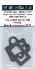 Quadra 35cc & 42cc Exhaust/Muffler Gasket 2 Pack NIP