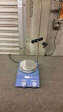 IKA Werke Werke Basic RCT B s1 Hot Plate Magnetrührer 1100 U/min mit Ständer