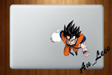 Macbook Air Pro Vinyl Skin Sticker Decal Young Goku Fly Dragon Ball 3 CMAC030