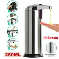Automatic Soap Dispenser Touchless Handsfree IR Sensor Liquid Bathroom Hand Wash