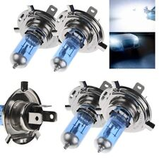 55W 12V H4 Headlight Xenon Halogen Globes Car Light Lamp Bulb Blue~