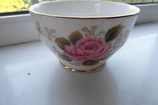 Duchess Fern Rose Sugar Bowl Floral Bone China 1st Quality British