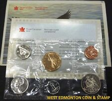 1991 UNCIRCULATED PROOF LIKE SET - CANADIAN 6-COIN SET - ENVELOPE & CERTIFICATE