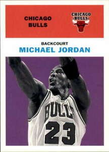 1998-99 Fleer #23 MICHAEL JORDAN  Vintage '61 Chicago Bulls Basketball