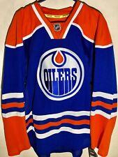 Reebok Authentic NHL Jersey Edmonton OIlers Team Blue sz 54