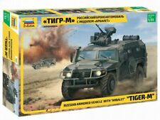ZVEZDA 3683 RUSSIAN ARMORED VEHICLE TIGER-M with ARBALET 1/35