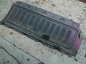 73 74 NOVA HATCHBACK REAR HATCH INTERIOR METAL PANEL BEHIND REAR SEAT