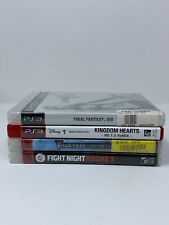 4 Game PS3 Lot Final Fantasy XIII, Kingdom Hearts, FIght Night Round 3, Valkyria