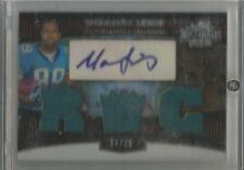 2006 Topps Triple Threads Football Marcedes Lewis Auto Jersey Rookie # 37/75 CSC