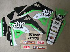 Fx F X Team 22 Racing Kawasaki Gráficos KXF250 KX250F 2006 2007 2008