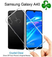 For Samsung Galaxy A40 Case Cover Crystal Clear Gel TPU Silicone Case New