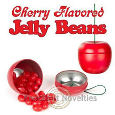Cherry Jelly Beans Tin Container Candies Candy Fifty Cherries Flavord Gift Shape