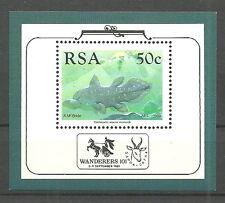 Afrique du sud - Latimeria chalumnae neuf 1989 Bloc 22 Mi. 769