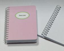 Blocco Note con Anello legame (DREAMS) DIN a6-cedon-COLLEZIONE-prezzo consigliato € 6,90