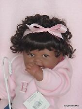 """Berenguer Ooak Doll with a makeover 21 """" Aa In New Lee Middleton Outfit"""