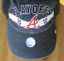 2010 Atlanta Braves CHAMPIONS playoff BALL CAP/HAT 47 FORTY SEVEN BRAND Blue NOS