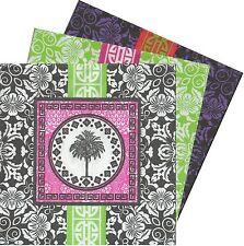 2 Serviettes en papier Asie Palmier Decoupage Paper Napkins Asian Palm