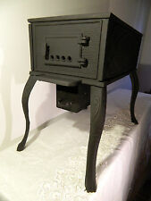 Coast Iron Wood Burning Stove Hot Plate Caravan Camping Workshop Heater Tent Boa