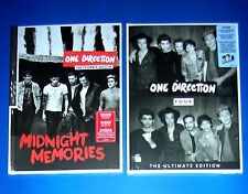 ONE DIRECTION, Midnight Memories + Four - Fan Edition PORTUGAL, 14 x 19 cm