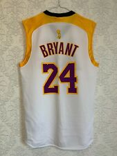 NBA Los Angeles Lakers Kobe Bryant #24 The Finals 08 Majestic Jersey Sz M RARE
