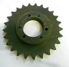 "ROLLER CHAIN SPROCKET, 60SDS25B, 25 TEETH, 5.39 OD, 2"" BORE"