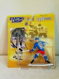 Wayne Gretzky, New York Rangers –1998  Starting Lineup – Figurine and Card