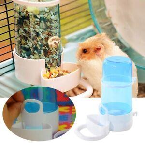 Automatic Pet Hamster Rabbit Food Water Feeder Bowl Bottle Dog Bird Dispenser