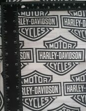 NEW Harley Davidson Quilting Craft Fabric Cotton Fat Quarter