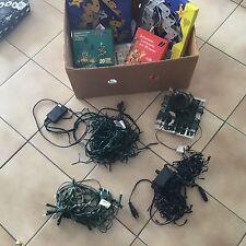 Lot kerstverlichting KERSTLICHTJES  raamstickers toeters   6 kerstlampen