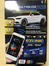 Alpena Bluetooth Smartphone Controlled Multicolor LED Strip Kit - (Mode 77091)